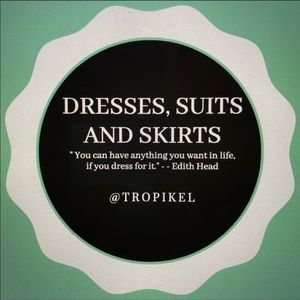 Dresses, Suits & Skirts